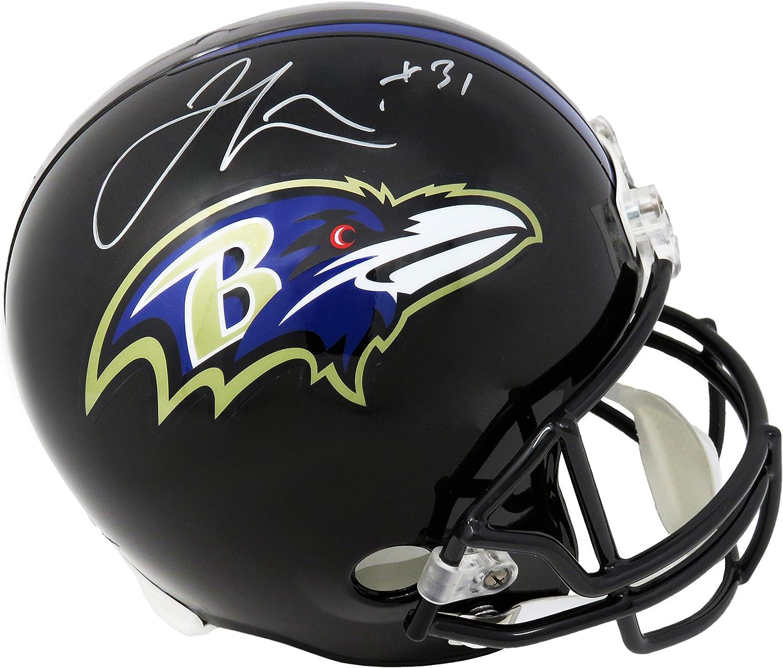 Jamal Lewis Baltimore Ravens Riddell Full-Size Replica Helmet
