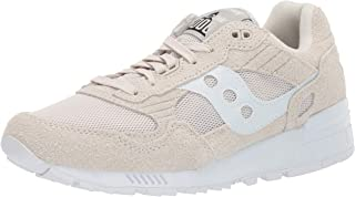 Saucony Originals Men's Shadow 5000 Sneaker, Tan/White, 12 M US