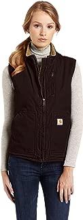 Carhartt Women's Mock Neck Sherpa Lined Vest (Regular and Plus Sizes)