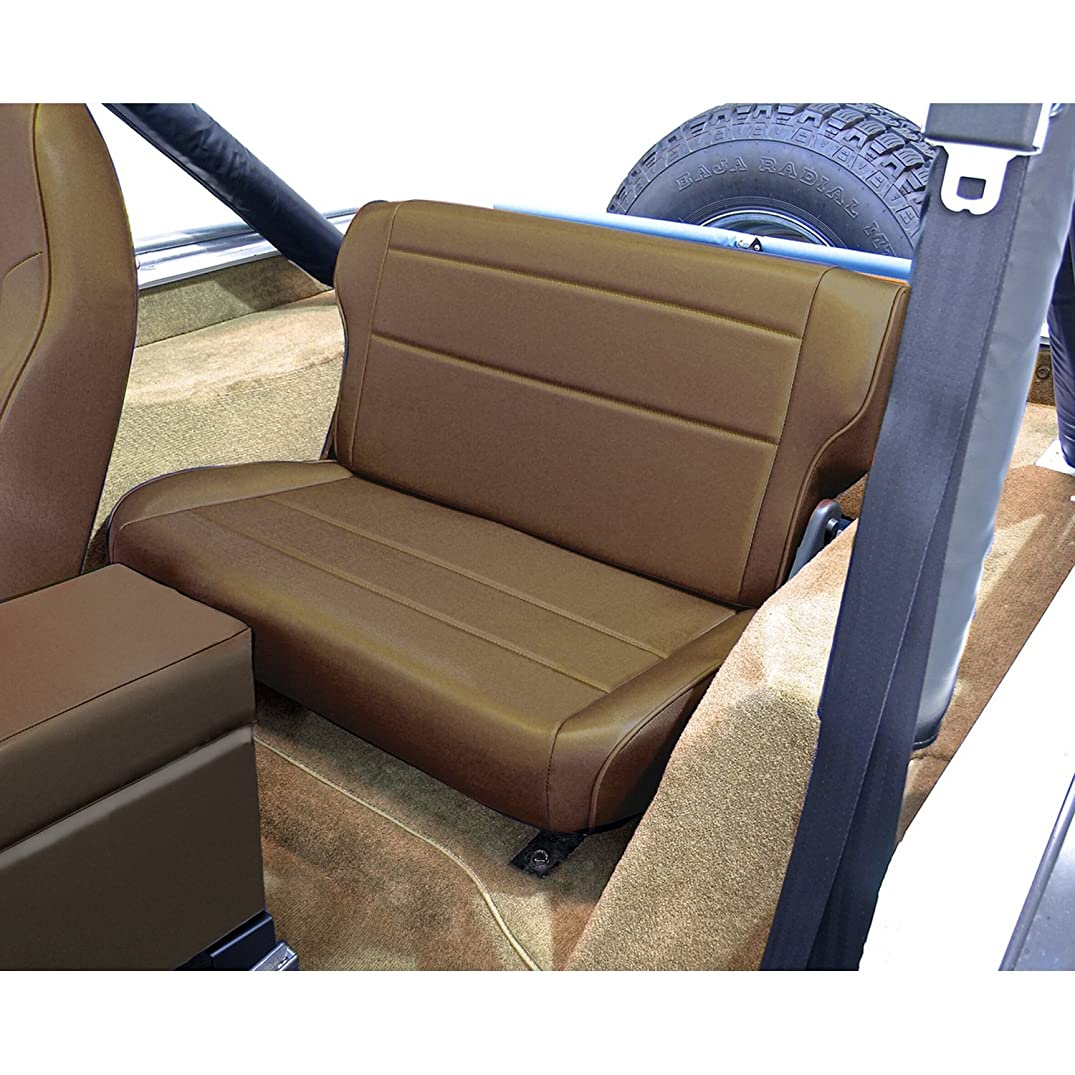 Rugged Ridge 13462.07 Nutmeg Fold and Tumble Rear Seat