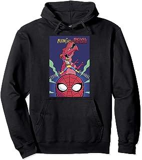 Marvel Moon Girl & Evil Dinosaur Meet Spider-Man Comic Cover Sweat à Capuche