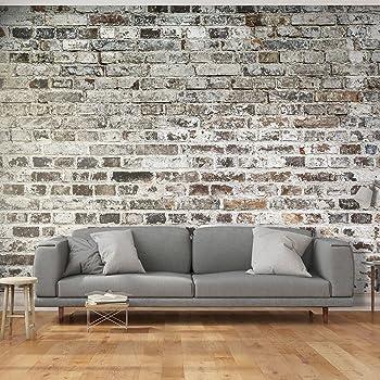 11,00 €//1qm Digital Pression Toile-Papier Peint Brique Brique Mur Grisep6102