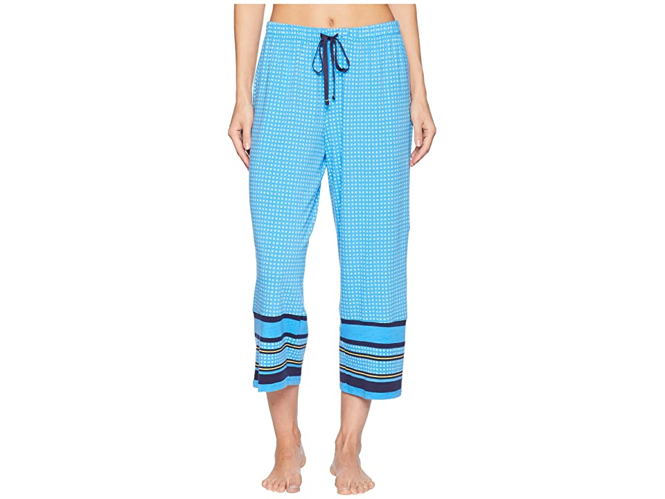 Jockey Printed Cropped Pants with Border (Tiny Geo Dot) Women