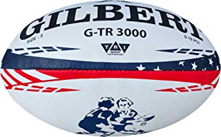 Gilbert G-TR3000 USA Stars & Stripes Rugby Training Ball