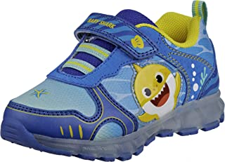 Nickelodeon Toddler Boys` Sneakers - Baby Shark Light-Up Running Shoes