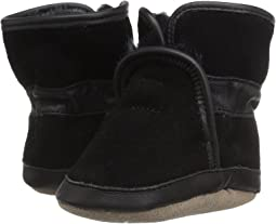 Robeez Cozy Ankle Bootie Soft Sole (Infant/Toddler)