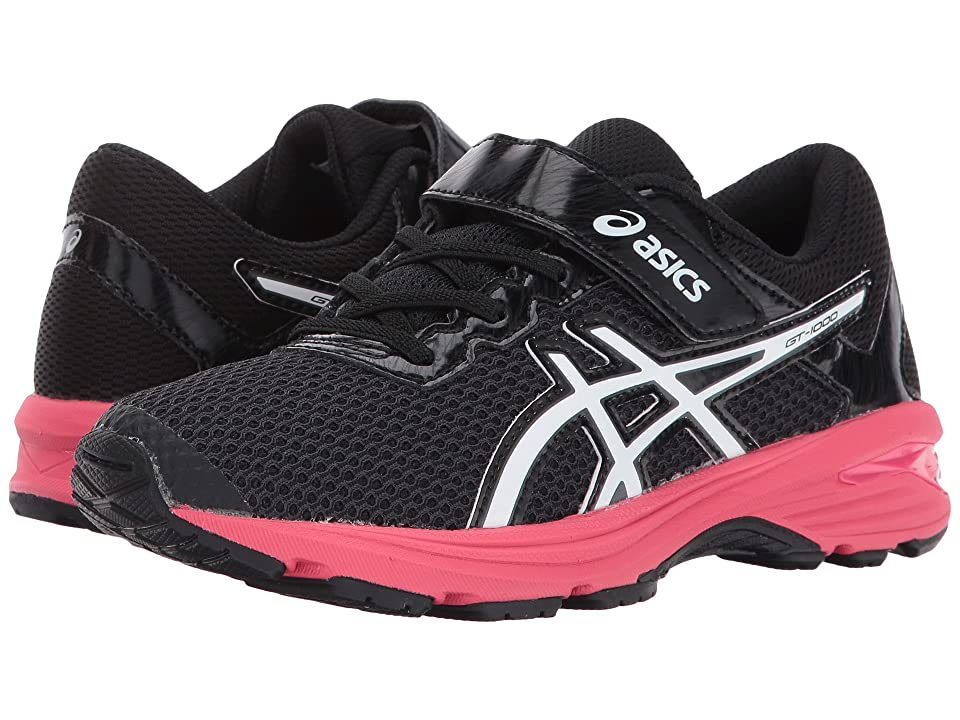 ASICS Kids GT-1000 6 PS (Toddler/Little Kid) (Dark Grey/White/Rouge Red) Girls Shoes