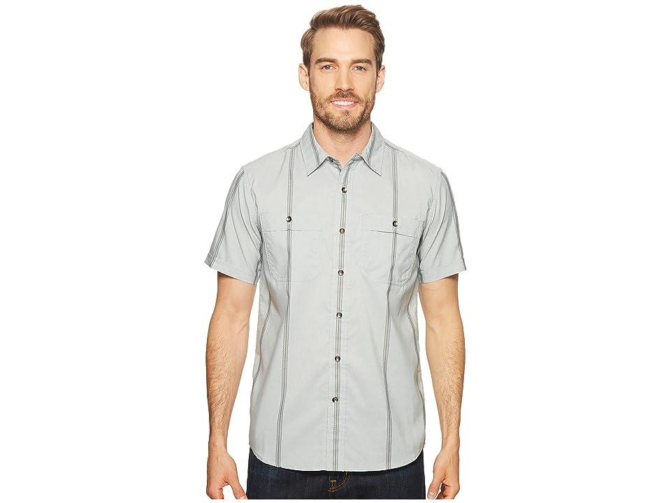 Royal Robbins Vista Dry Short Sleeve Shirt (Light Pelican) Men