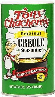 Tony Chachere's Original Creole Seasoning 8 Oz (Pack of 2)