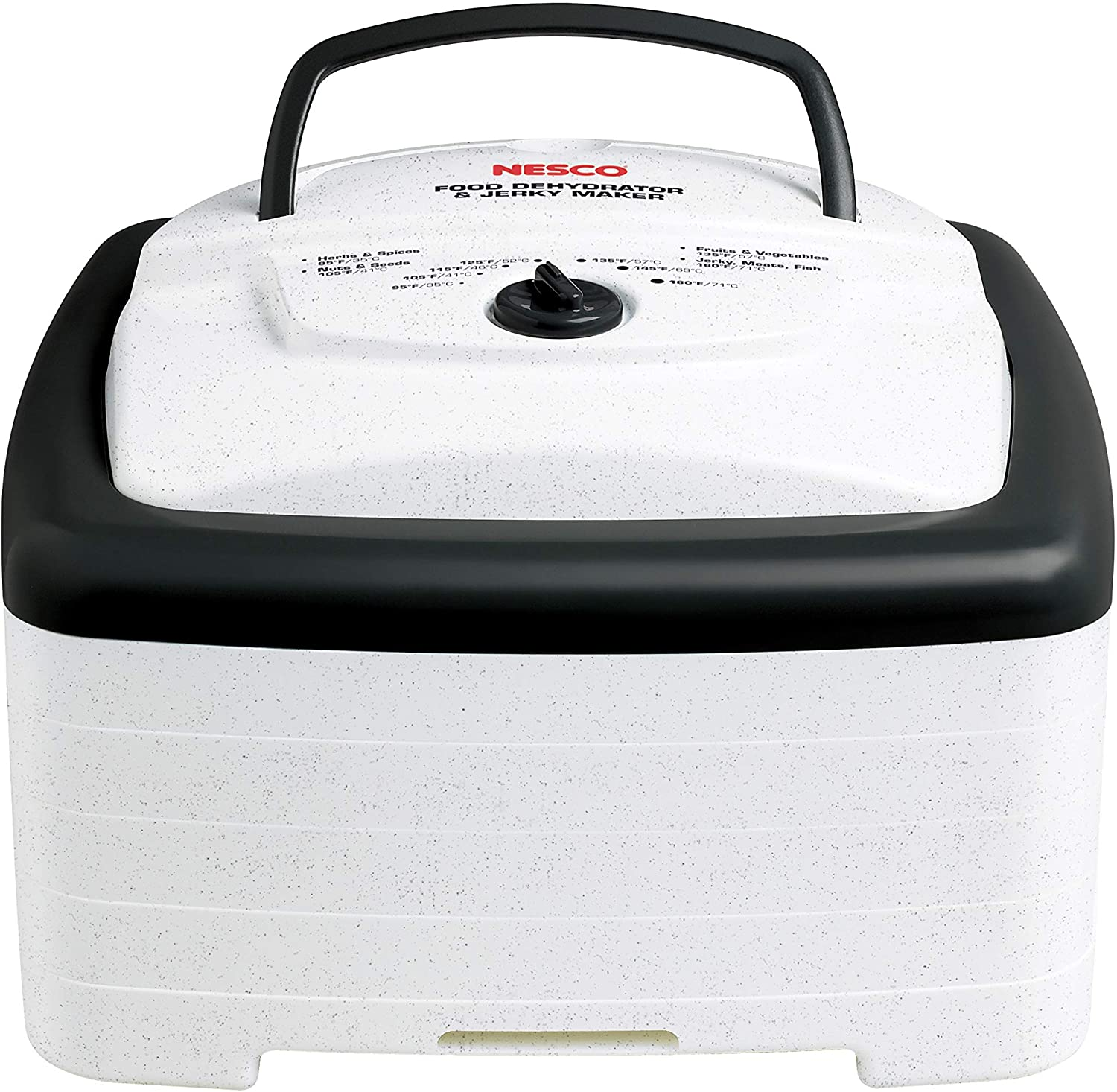 Nesco FD80A Food and Jerky dehydrator, 15.25 x 10.25 x 15.63 inches, White