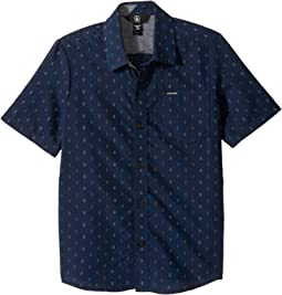 Volcom Kids - Rollins Short Sleeve Shirt (Big Kids)