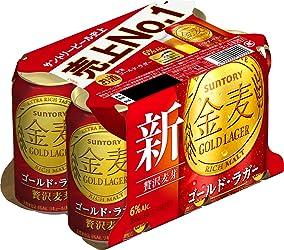 金麦 ゴールドラガー [ 350ml×6本 ]