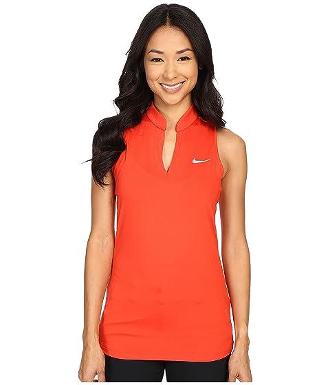 Nike Womens Golf Top - Nike Ace Melt Away Racerback Yellow K21q8093