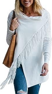Apparel Women's Fringe Wrap Cardigan   Polyester Blend