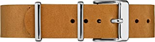 Timex Double-Layered Leather Slip-Thru Strap