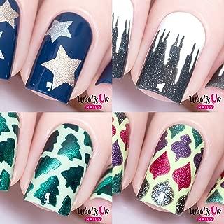 Best nail art stencils christmas Reviews