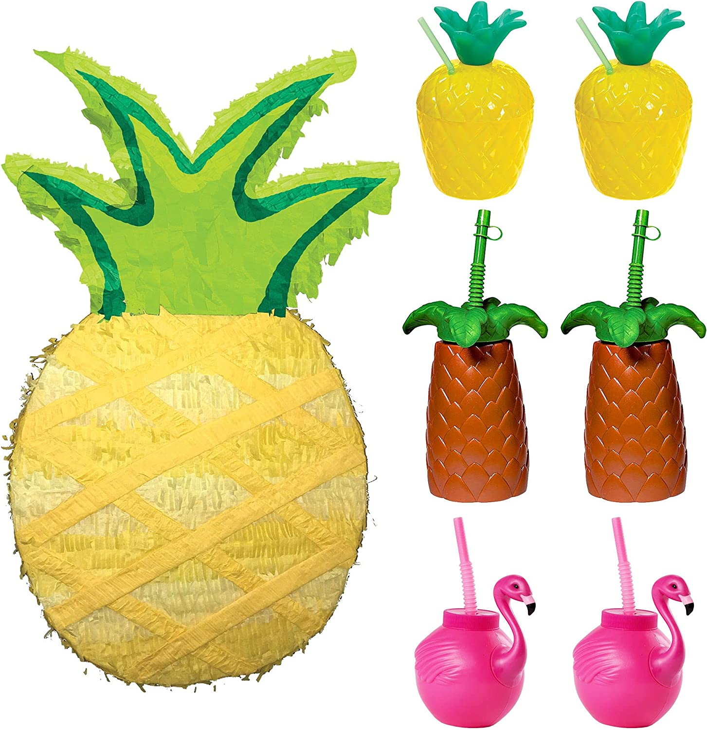 Max 65% OFF Party City Pineapple 2021 autumn and winter new Supplies for 6 Guests