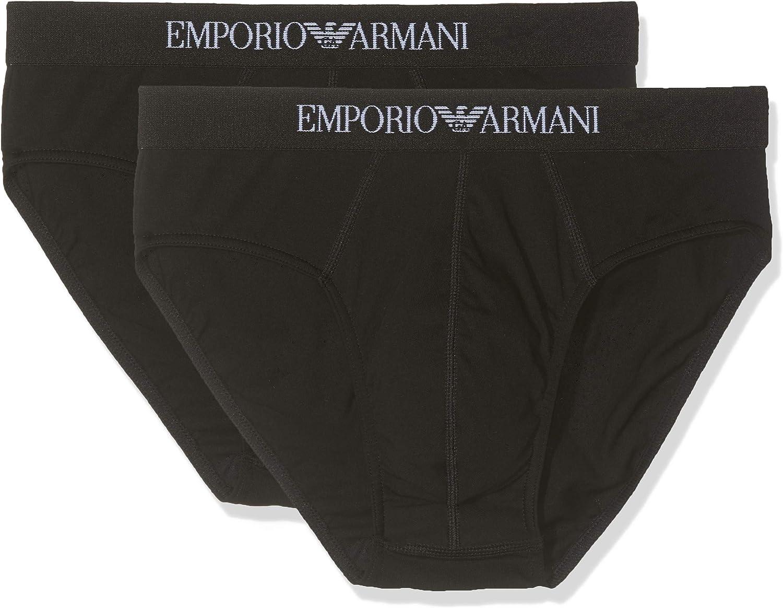 Emporio Armani 2-Pack Pure Cotton Briefs