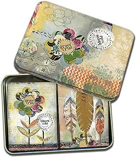 LANG - Playing Cards - 2 Decks in Decorative Tin -