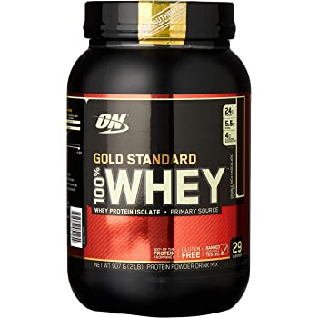 Gold Standard 100% ホエイ プロテイン ダブルリッチチョコレート 907g (2lbs) [米国メーカー正規品] [海外直送品]