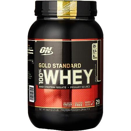 Gold Standard 100% ホエイ プロテイン ダブルリッチチョコレート 907g (2lbs) [米国メーカー正規品] [海外直送品]