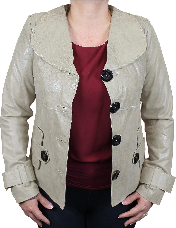 World Traveler Women's Flair Leather Distressed Jacket