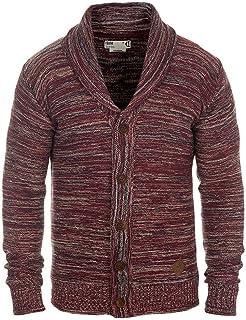 Amazon.it: cardigan uomo Rosso Uomo: Abbigliamento