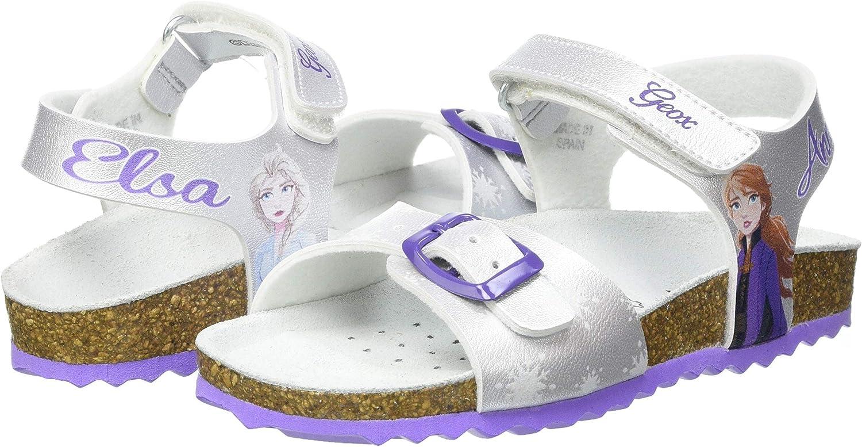 Geox M/ädchen J Adriel Girl C Sandal