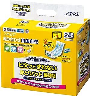 いちばん ピタッとずれない尿とりパッド 長時間 24枚入 (パンツ・テープタイプ兼用)