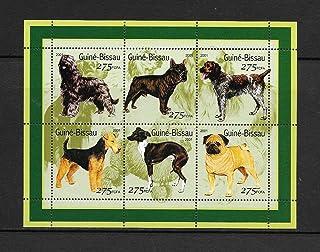 ギニアビサウ『犬』6枚シート A 2001