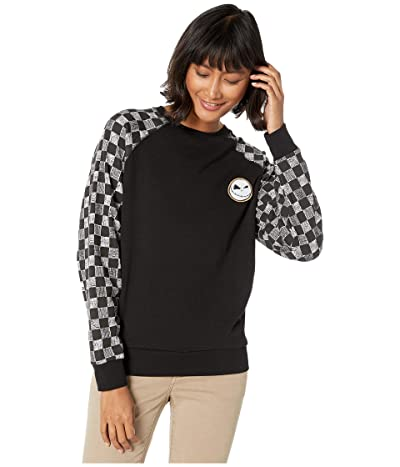 Vans Vans x The Nightmare Before Christmas Sweatshirt Collection (Jack Check/Nightmare (Crew Sweatshirt)) Women