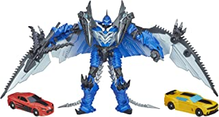 Transformers 4 Age of Extinction Exclusive Action Figure 3-Pack Bumblebee & Strafe Vs Decepticon Stinger