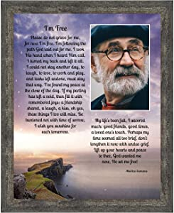 Memorial Picture Frames for Sympathy Gift Baskets, Memorial Gifts for Loss of Mother, Bereavement Gifts, Condolence Card in Memory of Loved One, Sympathy Gifts for Loss of Father,