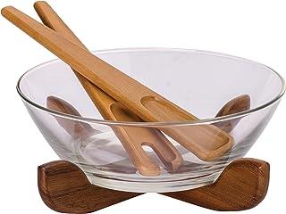 Billi Wooden Salad Bowl Set ACA-OG25A