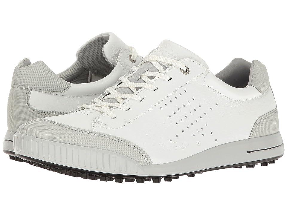 ECCO Golf Street Retro HydroMax (White/Concrete) Men