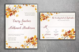 Best autumn wedding invitations Reviews