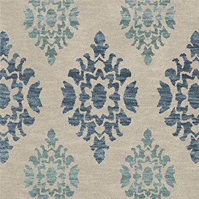 Dalyn Rugs Bella BL9PU10SQ Area Rugs, 10 Square, Putty