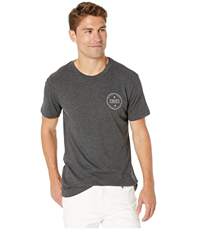 RVCA Induseal T-Shirt (Black) Men