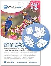 WINDOWALERT Leaf Medley Window Decal Envelope-Save Wild Birds!
