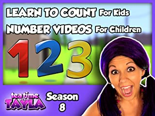 Tea Time with Tayla - Learn to Count for Kids, Number Videos for Children