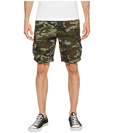 Quiksilver Crucial Battle Cargo Shorts (Camo) Men