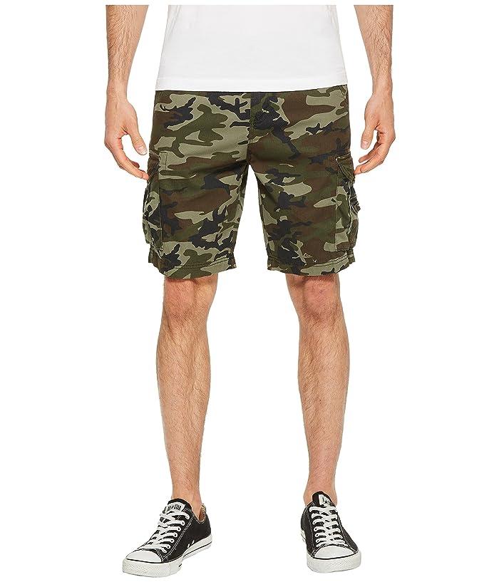 Quiksilver Crucial Battle Cargo Shorts (Camo) Men
