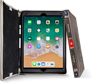 Twelve South BookBook for iPad Air/Pro 10.5 Inch   Hardback Leather Case, Pencil Storage and Easel for iPad Pro/Air + Apple Pencil