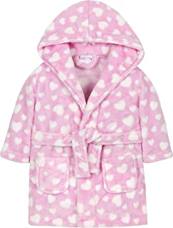 pink heart dressing gown