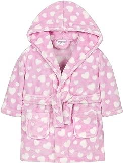 Metzuyan Baby Boys & Girls Star & Heart Hooded Dressing Gown