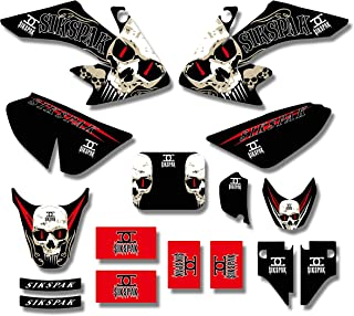 For Honda CRF50 CRF50F CRF 50 50F Decal Sticker Team Graphics Stickers Background Dirt Pit Bike Decals 2004-2009 2010 2011 2012