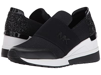MICHAEL Michael Kors Felix Trainer (Black) Women