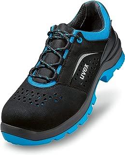 Cofra Zapatos de Seguridad S3/sarg/ón Agressive de Serie Robusto Zapato de Trabajo con pl/ástico Kape Mediante pedalada Protecci/ón Piel Impermeable Negro//Rojo