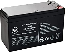 GS Portalac PXL12090 12V 9Ah Emergency Light Battery - This is an AJC Brand Replacement