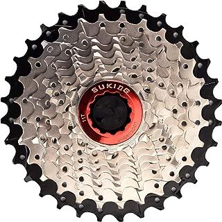 CYSKY 9 Speed Cassette 9Speed 11-32 Cassette Fit for Mountain Bike, Road Bicycle, MTB, BMX, Sram Sunrace Shimano ultegra xt (Light Weight)